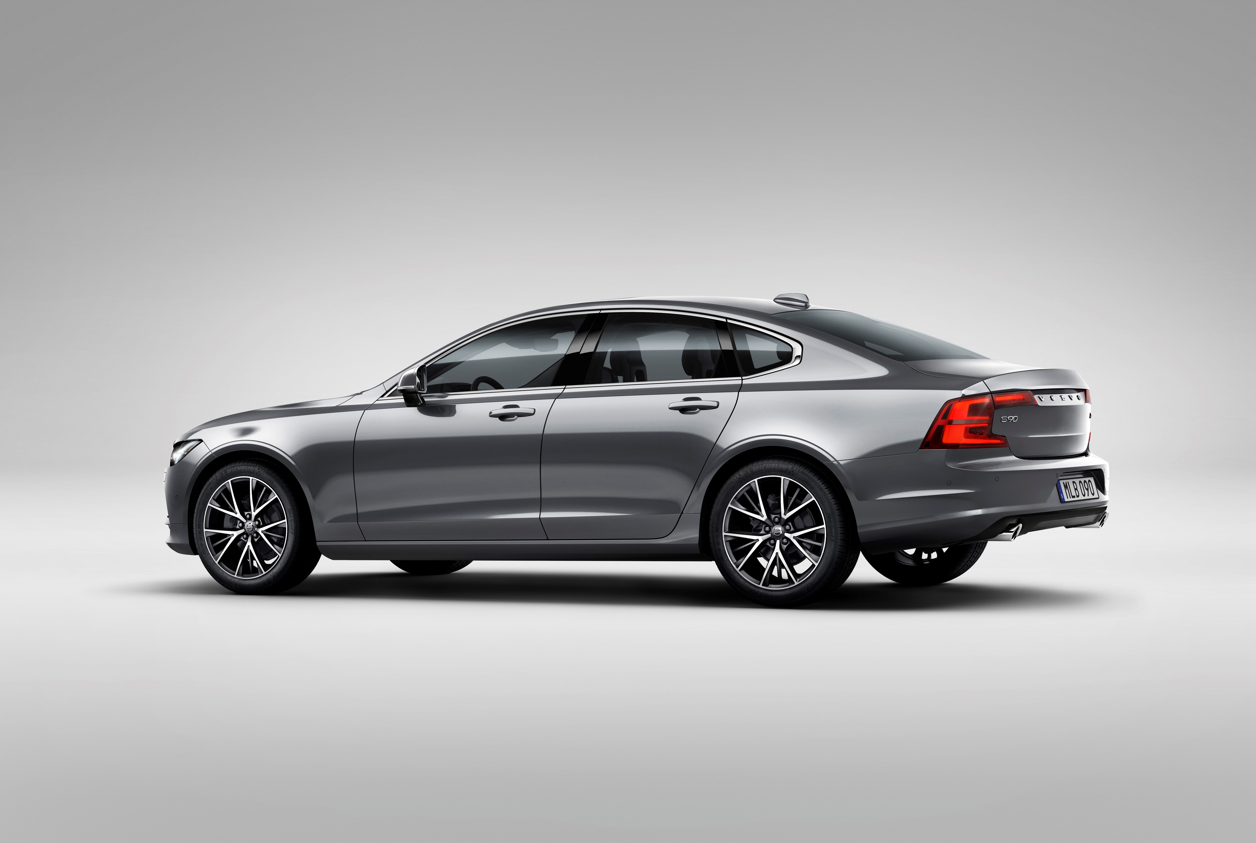 Rear Quarter Volvo S90 Osmium Grey