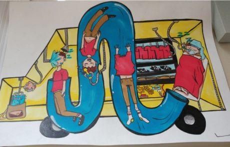 """תחרות ציורי הילדים העולמית של טויוטה  """"מכונית החלומות 2019"""""""