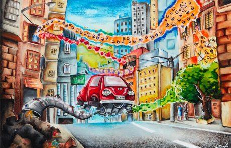 """תחרות ציורי הילדים העולמית של טויוטה – """"מכונית החלומות 2018"""" – חוזרת לישראל"""