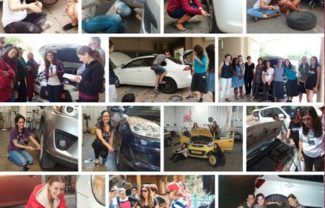פעילות ליום האישה 2020 – סדנה בתחזוקת רכב