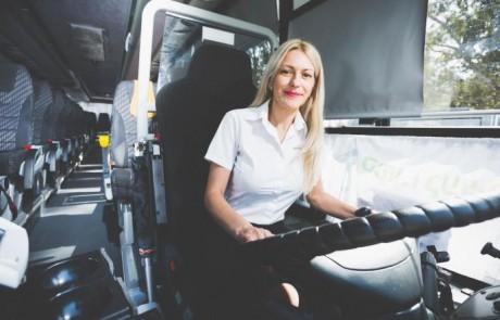 נשים הן כוח חזק ומשמעותי בענף התחבורה הציבורית