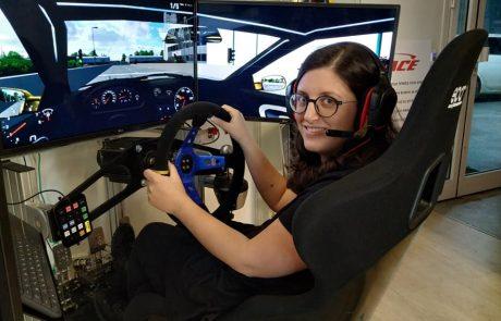 סיכום חווית ביקור בחברת סימרייס- נהיגה בסימלטור