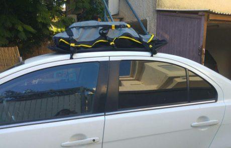 צי'מיגג – אחסון בתיק על גג הרכב התרשמות מנסיון אישי